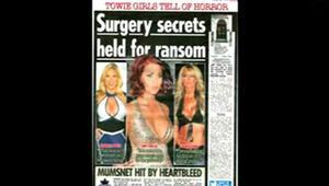 Göğüs ameliyatı şantajı