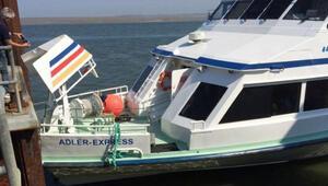 Almanyada gemi kazası