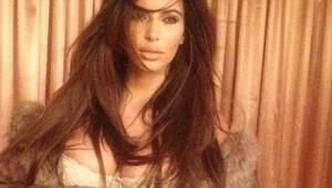 Kim Kardashianın fotoğrafları gündemi sarstı