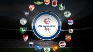 Bank Asya 1. Ligde haftanın maçları