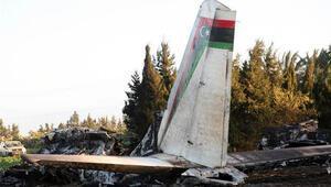 Tunusta askeri uçak düştü: 11 ölü