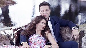 Jamie Oliverın eşi Jools için  neden Brad Pitt bir travma