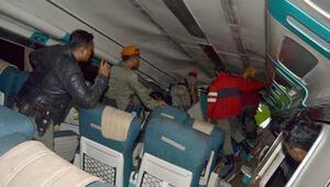 Endonezyada tren raydan çıktı: 3 ölü, 7 yaralı