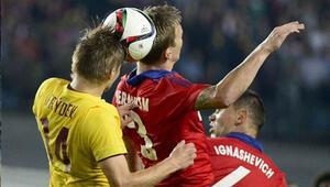 CSKA Moskova: 2 - Sparta Prag: 2