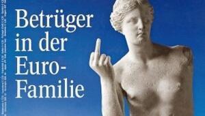 Yunanistan'ı öfkelendiren dergi kapağı