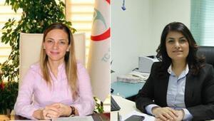 İzmirde sağlığa kadınlar damga vurdu