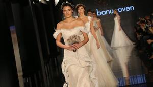 Moda tasarımcısı Banu Güvenden romantik gelinlikler