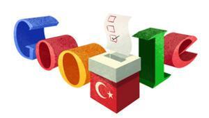Googleden Türkiyeye özel seçim doodleı