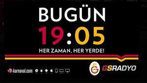 Galatasarayda tarihi gün Saat 19.05te başlıyor