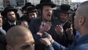İsrailde haremlik-selamlık kavgası