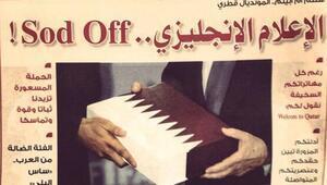 Katar'dan küfürlü cevap