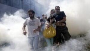 Gezi Parkı'na Kuğuluda destek nöbeti