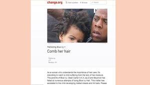 Beyonce ve Jay Znin kızı Blue Ivy için kampanya