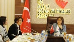Fatma Şahin kadın CEOlarla görüştü