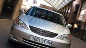 En popüler otomobil Toyota Camry