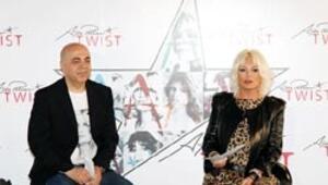 Süperstar ikinci hayaline uyup 'Ajda Pekkan For Twist'i yaptı Moskova'da da vitrine çıkacak