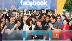 Borsada 'sweat-shirt'le gongu çaldı, 104 milyar dolara Facebook'u halka arz etti