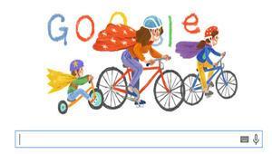 Googledan Anneler Günü için doodle