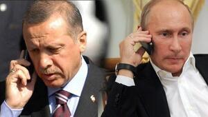 Erdoğan Putin'i aradı: Kararlıyız