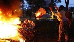 Gezi Parkına şafak baskını