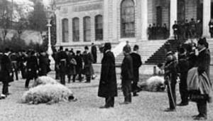 Dolmabahçe Sarayı'nda kurban merasimi