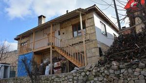 Şehit madencinin babası Recep Amcanın evi yenilendi