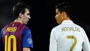 Messi ile Ronaldo yine rakip oldu