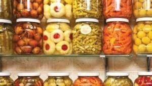 Tescilli gıdamız turşu ile üzüm