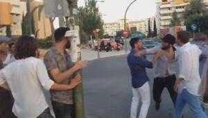 Gonzalo Higuain sokakta tekme tokat kavga etti