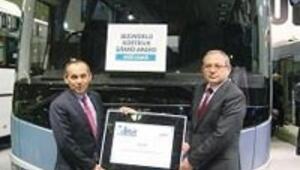 Türk otobüsleri Avrupa'yı sardı, 'büyük ödül'le döndü