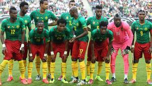 Kamerun Brezilyadaki bizim takım