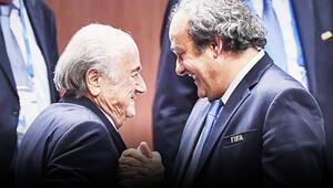 Sepp Blatter Michel Platininin kendisini hapse girmekle tehdit ettiğini söyledi