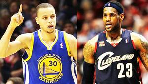 Cavaliers ilk Warriors 4. şampiyonluğun peşinde