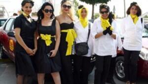 Kraliçe Kelebekler İstanbul trafiğine çıktı