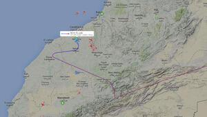 THY uçağı Kazablankaya acil iniş yaptı