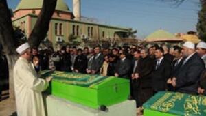 Baraj kazasında ölen iki işçi toprağa verildi