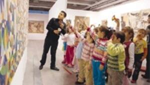 En zevkli ders müzede