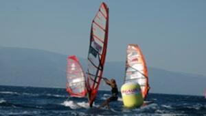 Windsurf heyecanı bu kez İstanbulda