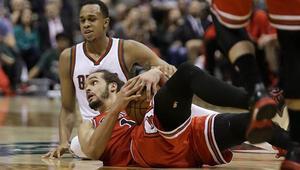 Chicago Bulls Milwaukee Bucksı eledi