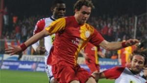 Galatasarayda Elmander sevinci