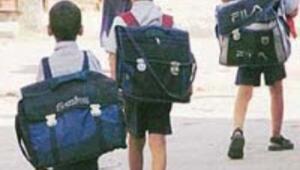 Ağır okul çantalarına paydos