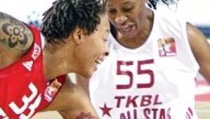 Kadınlar All-Star'a Frazee damgası