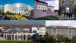 8 Türk üniversitesi dünya sıralamasında