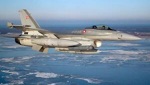 Danimarka F16ları gönderdi