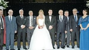 Kartallar'ın VIP düğünü