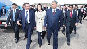 Kazak misafirlere Ankapark turu