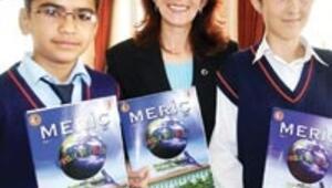 Projeci okuldan çok özel dergi
