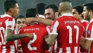 Olympiakos deplasmanda Kerkyrayı devirdi