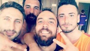 Galatasarayda kadro dışı kaldılar ama keyifler yerinde