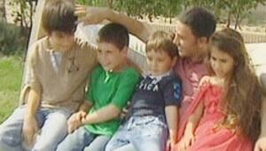Çocuklarıyla ilk kez